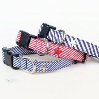 Hickory denim Collar<br>Size M