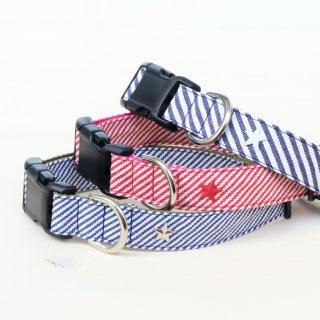 Hickory denim Collar<br>Size L