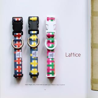Lattice Collar<br>Size L