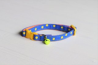 Cat collar<br>Candydot<br>Blue
