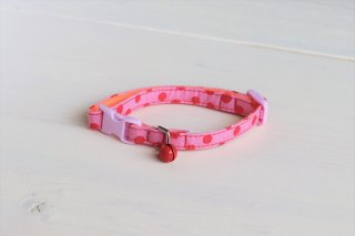 Cat collar<br>Candydot<br>Pink