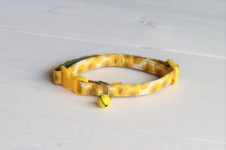 Cat collar<br>LIBERTY Sunbeam<br>Yellow