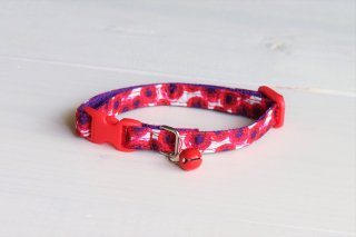 Cat collar<br>LIBERTY Sunbeam<br>Red