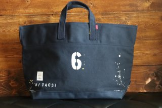 "CARRY BAG <br>CottonTote  ""No 6""<br>Navy<br>"