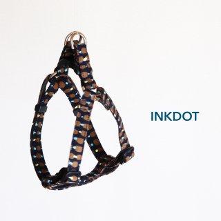Inkdot Triangle Harness<br>Navy<br>S / M / L
