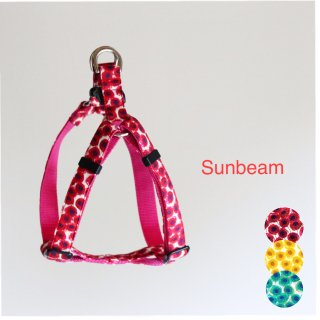 Sunbeam Triangle Harness<br>Red  / Yellow / Green<br>S / M / L<img class='new_mark_img2' src='https://img.shop-pro.jp/img/new/icons5.gif' style='border:none;display:inline;margin:0px;padding:0px;width:auto;' />