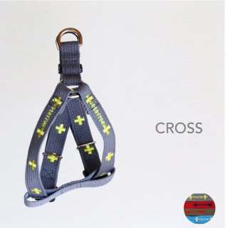 Cross Triangle Harness<br>Grey / Red / Khaki / Blue<br>M / L<img class='new_mark_img2' src='https://img.shop-pro.jp/img/new/icons5.gif' style='border:none;display:inline;margin:0px;padding:0px;width:auto;' />
