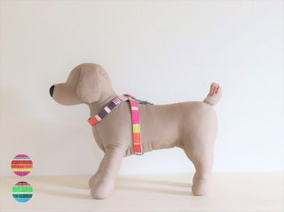 String harness<br>Pink / Green<br>S / M / L<img class='new_mark_img2' src='https://img.shop-pro.jp/img/new/icons5.gif' style='border:none;display:inline;margin:0px;padding:0px;width:auto;' />
