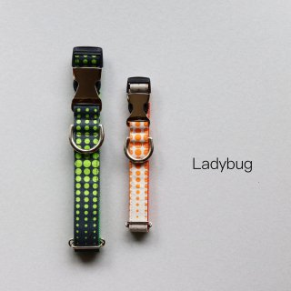 Ladybug Collar <br>Size M<img class='new_mark_img2' src='https://img.shop-pro.jp/img/new/icons57.gif' style='border:none;display:inline;margin:0px;padding:0px;width:auto;' />