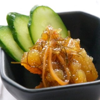 [冷蔵]坂下商店手作り魚やのお惣菜セット(味付けイクラ、松前漬け、塩辛、味付けつぶ貝)