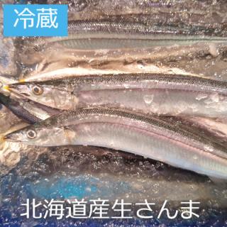 [冷蔵]北海道産 生さんま1本
