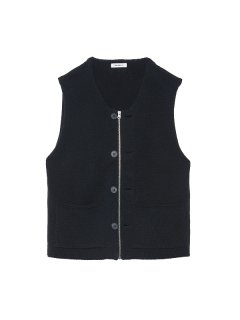MODIFIED FARMERS KNIT VEST