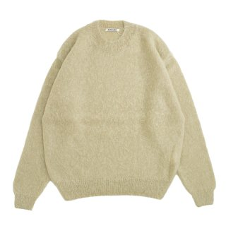 BRUSHED SUPER KID MOHAIR KNIT