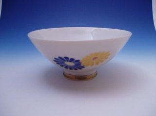 菊絵御飯茶碗