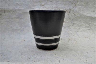 黒マットプラチナ彩フリーカップ