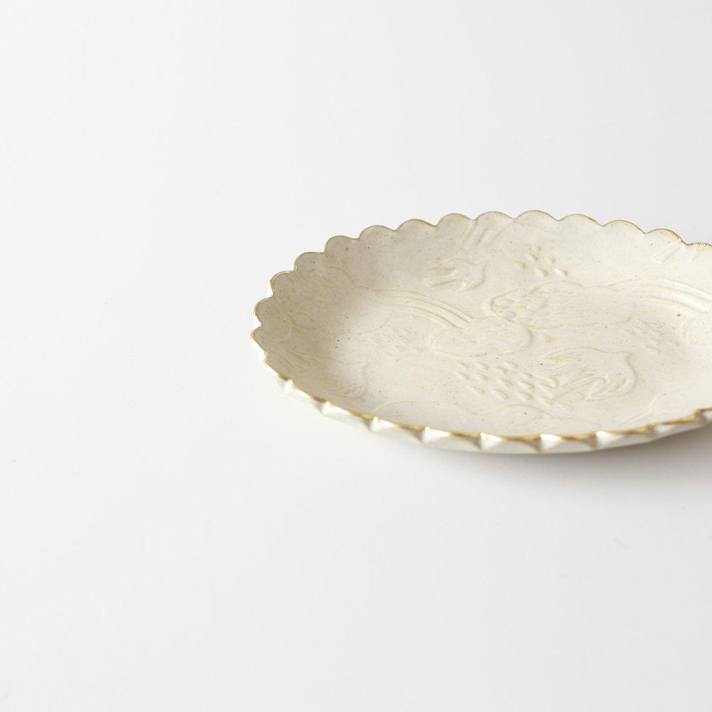 前田葉子 楕円皿
