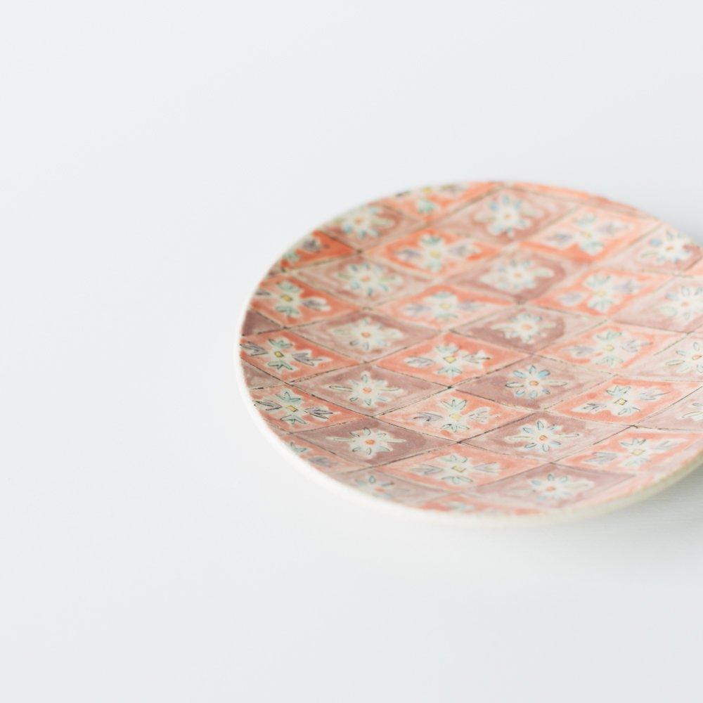 増山文 絵皿