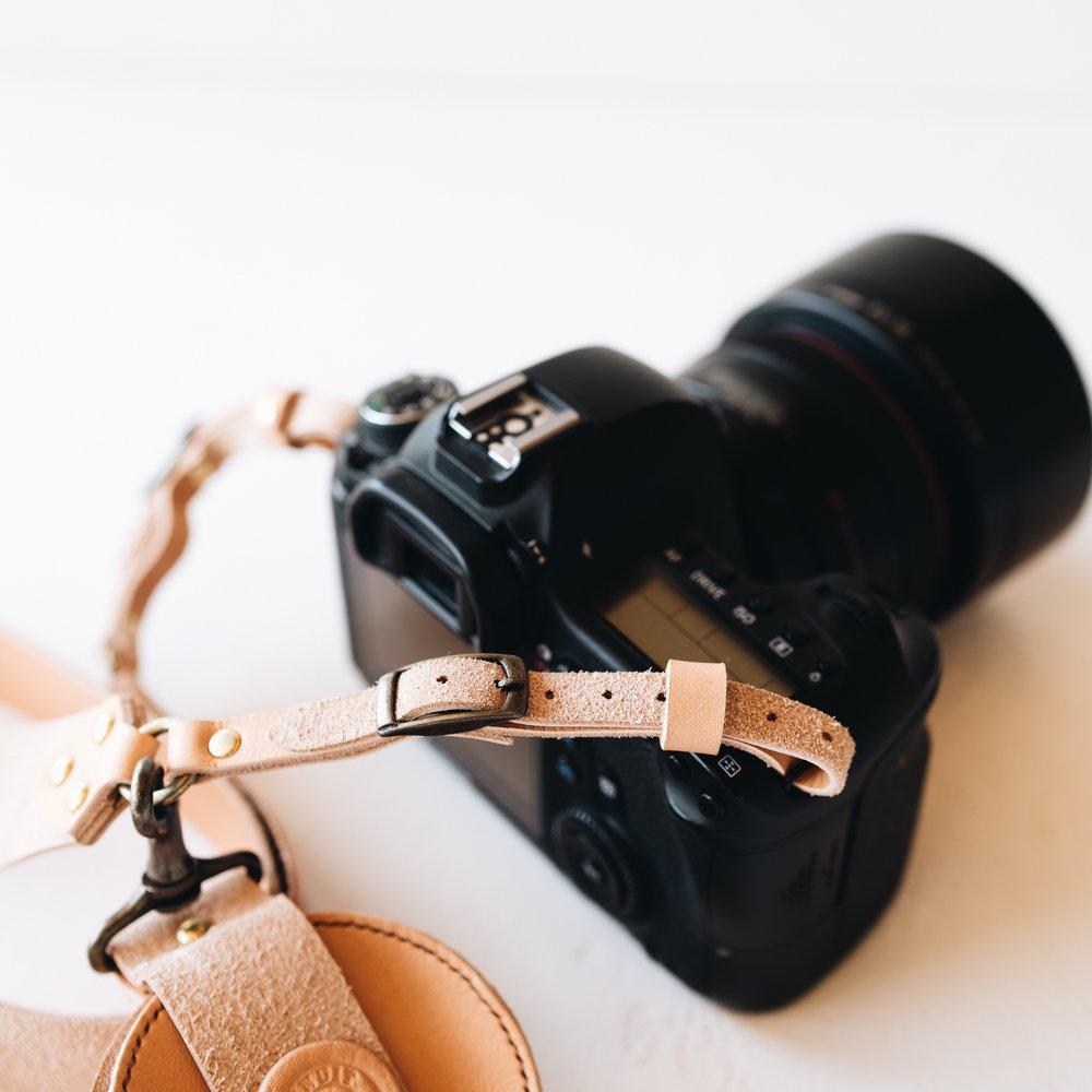 MINUIT カメラストラップ(ナチュラル)