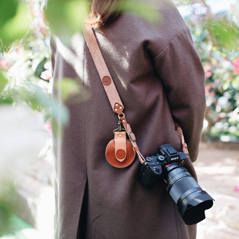 MINUIT カメラストラップ(ブラウン)