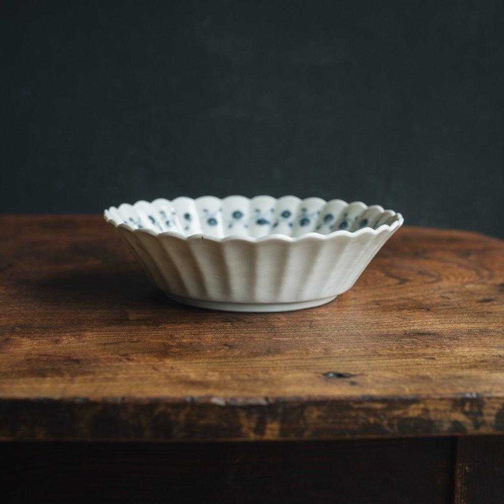 【2021年7月】志村和晃 (染付果実文オランダ6寸鉢)  (シ16)