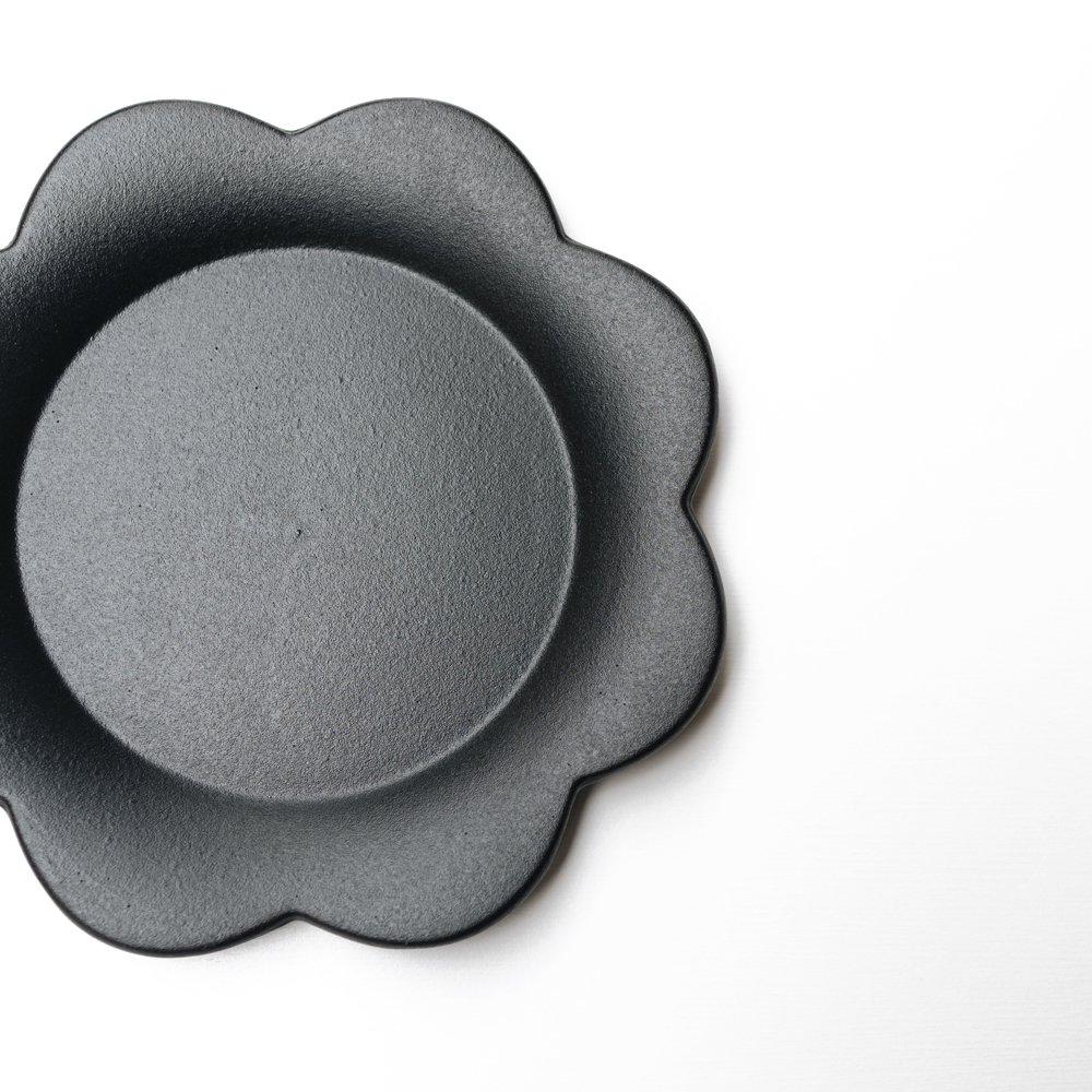 (2021年3月)イロドリ ごきげんプレート small(黒)