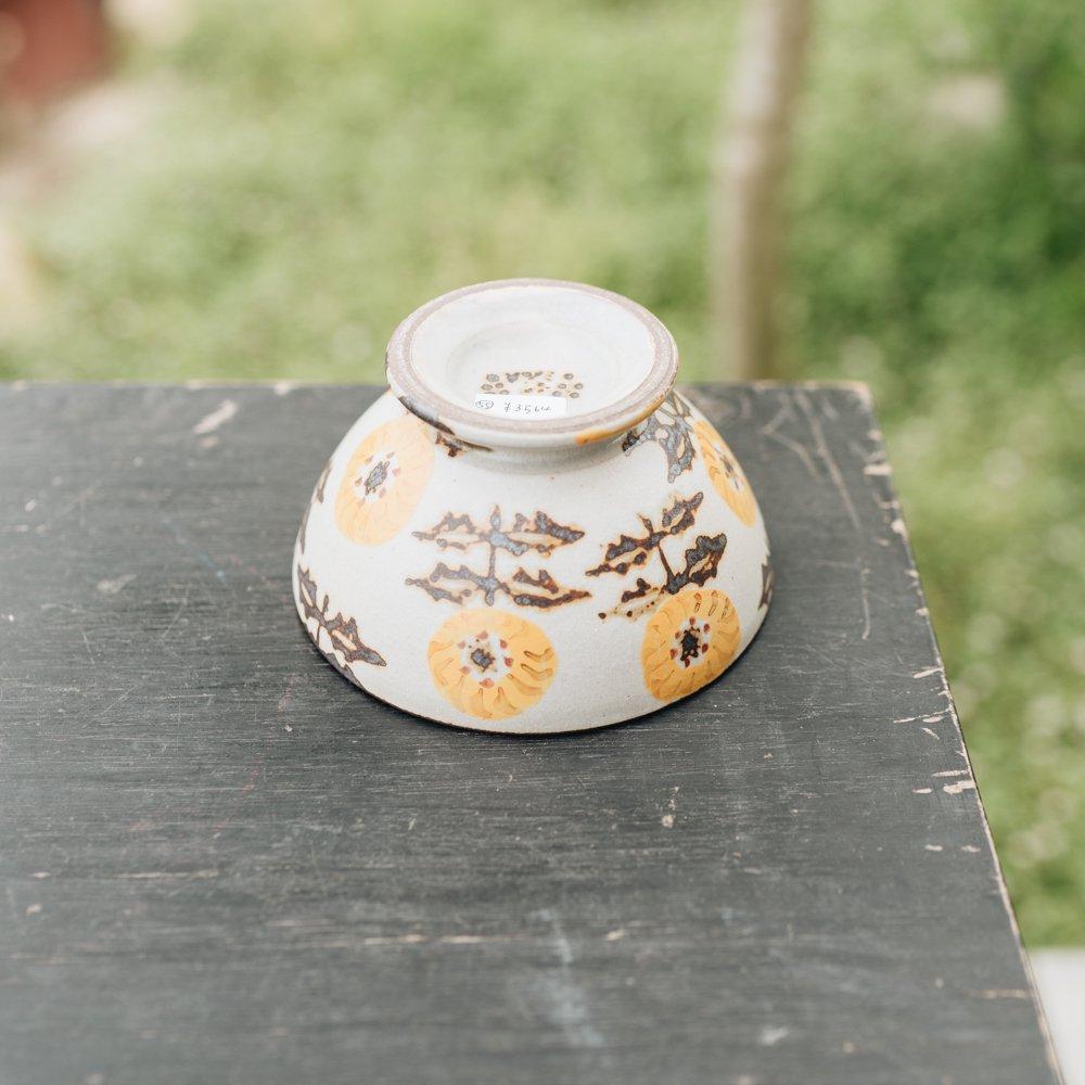 ヒヅミ峠舎 色絵カフェオレボウル 55