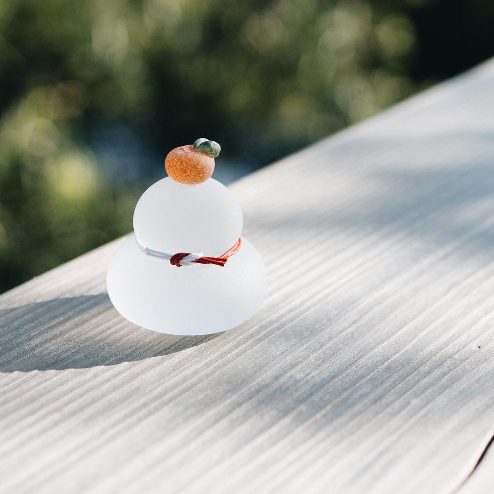 (※完売終了)橋村大作 鏡餅(クリア)