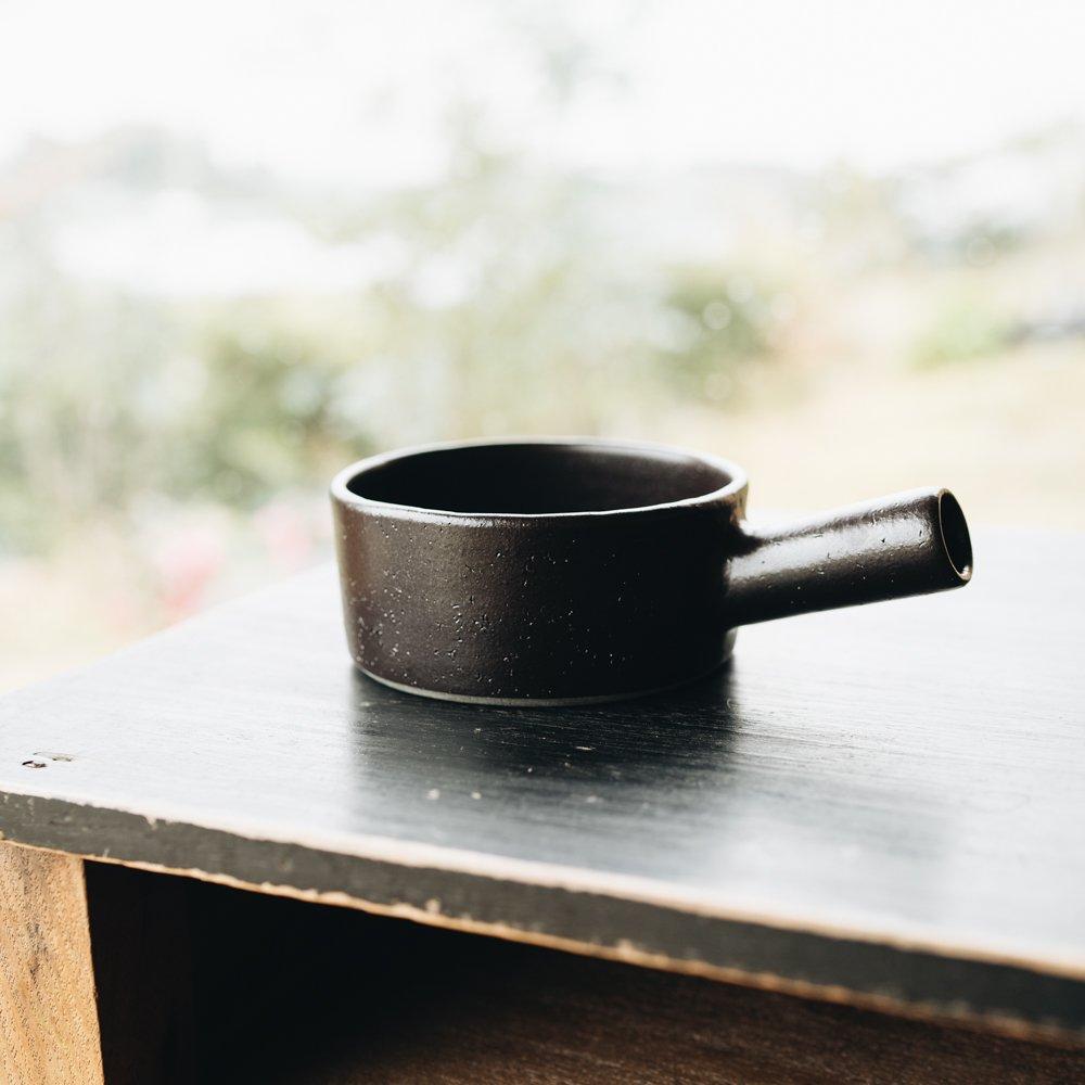 吉田健宗 黒手つき鉢 4