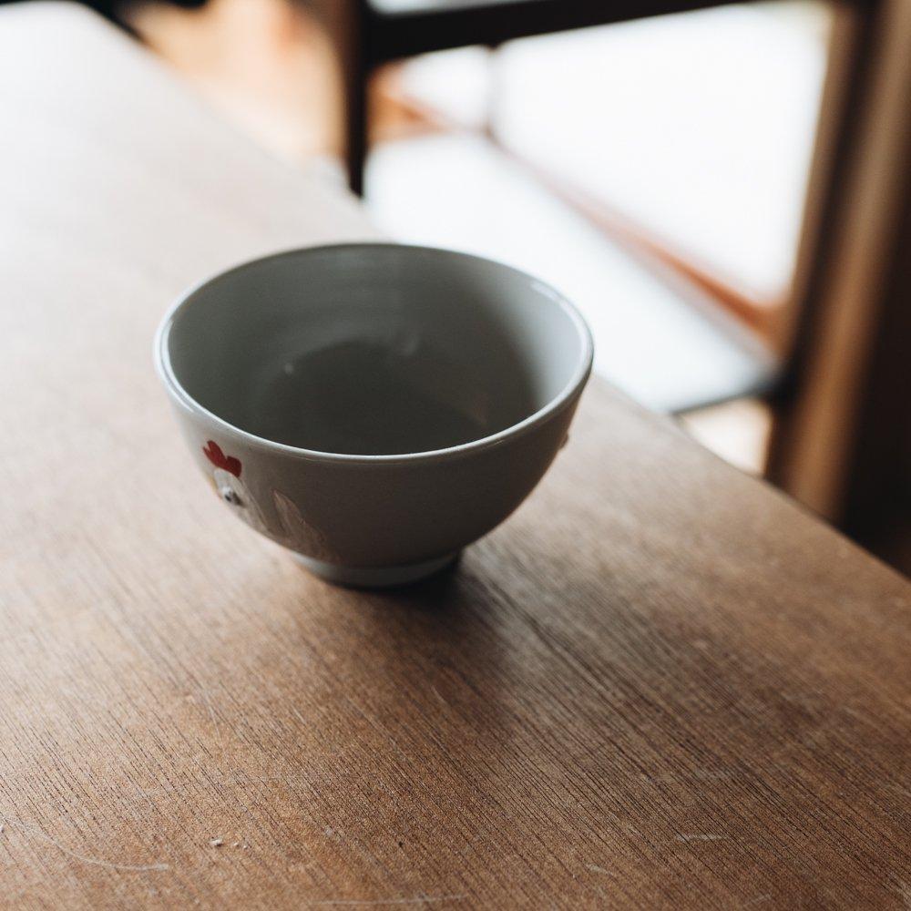 宮崎孝彦 お子様茶碗(ニワトリ) 24
