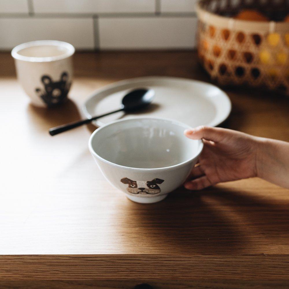 宮崎孝彦 お茶碗(ブルドッグ) 28