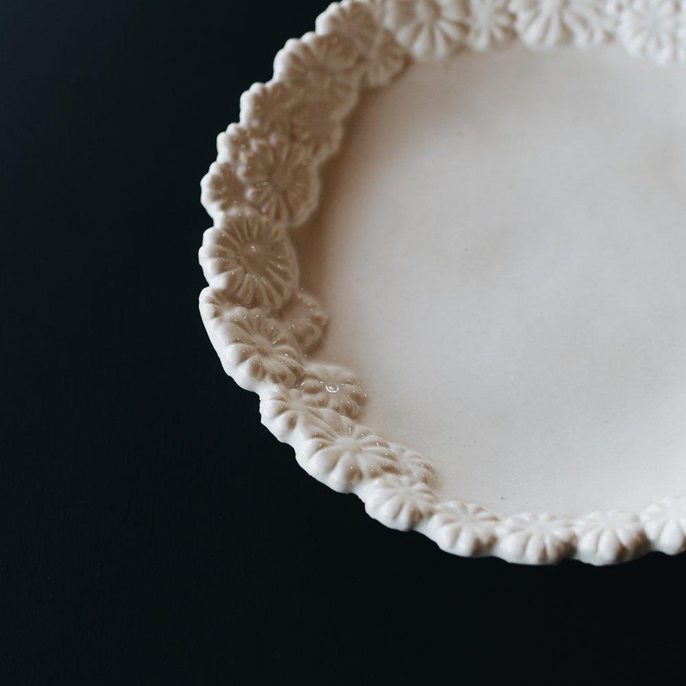 (2020年5月)つちのわ 花かんむり白 15cm 8
