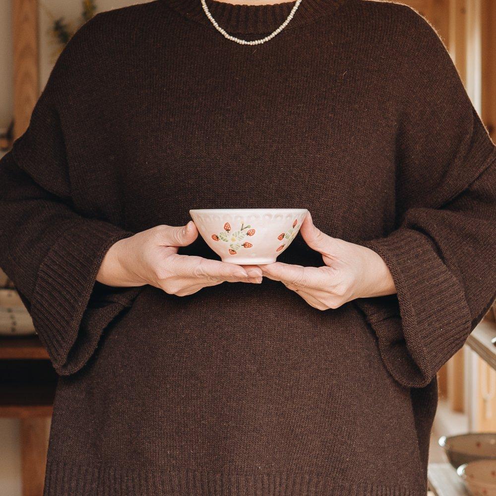 三浦愛子 苺ご飯茶碗 4