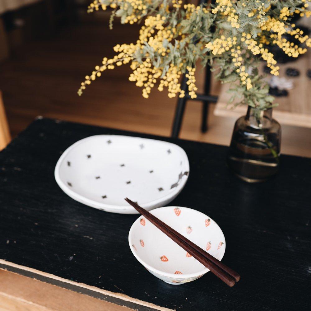 三浦愛子 苺ご飯茶碗 5
