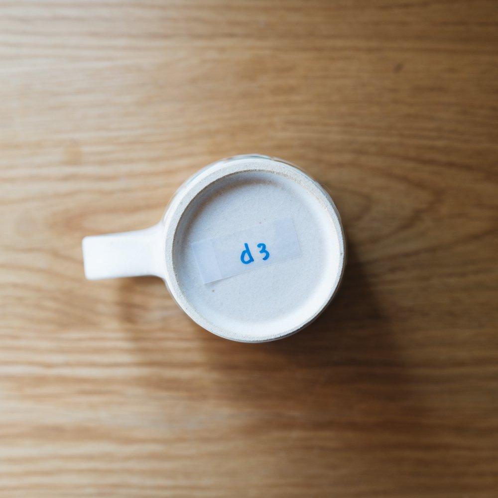 古川真紀子 タイル文様 マグカップ d3
