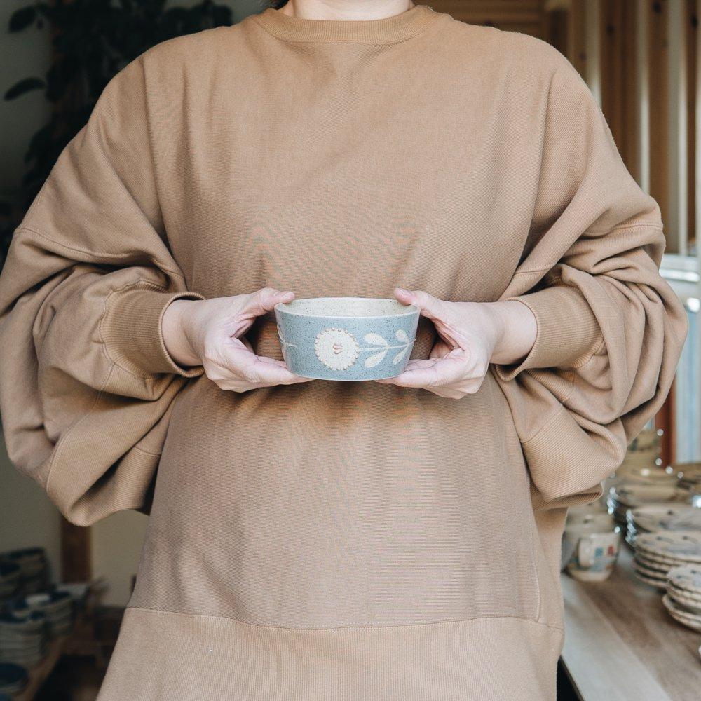 苔色工房 浅鉢凸(2020年3月企画展) 14