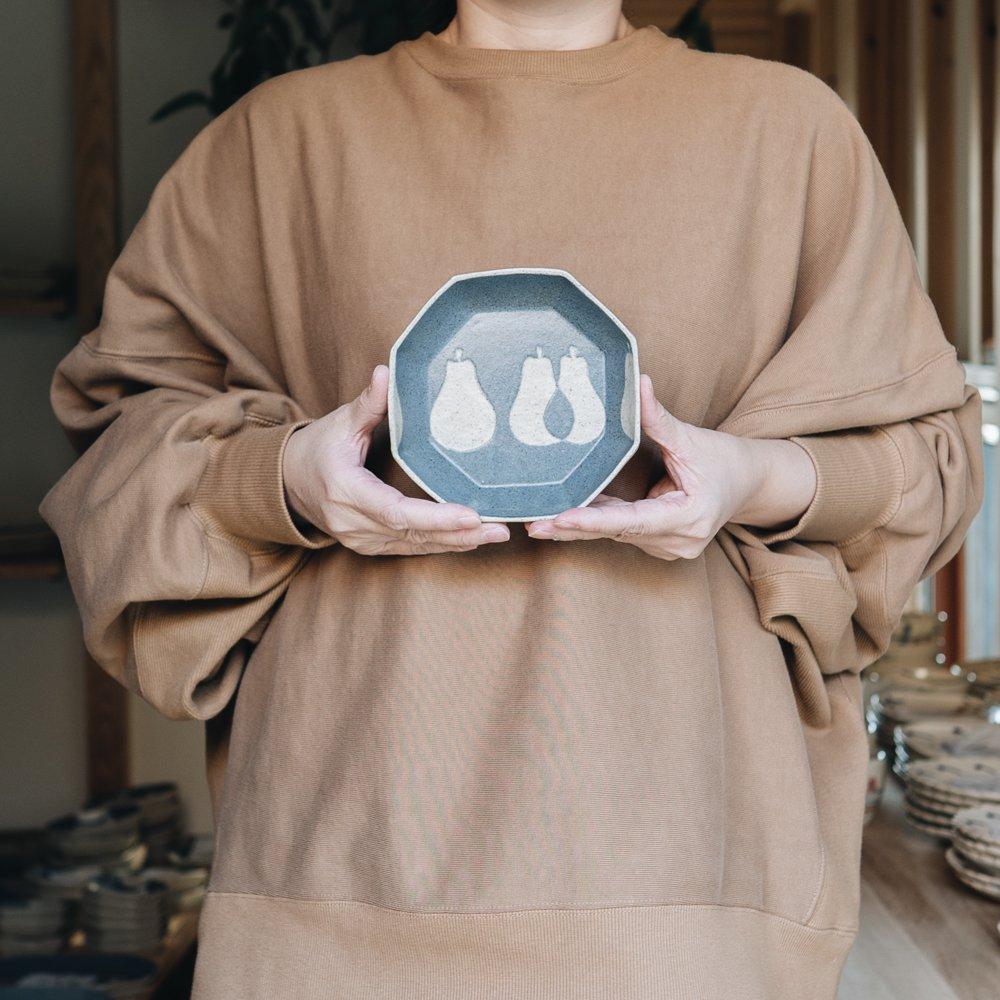 苔色工房 八角小鉢(2020年3月企画展) 28a