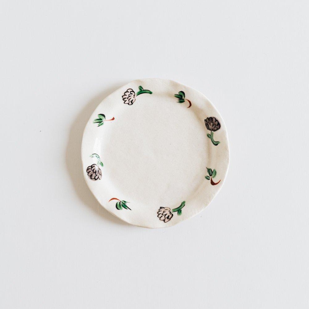 (2020年6月)榛澤宏 色花ちらし5.5寸皿