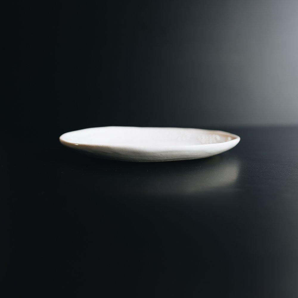 (2020年5月)つちのわ ミモザ皿  白 21cm 2