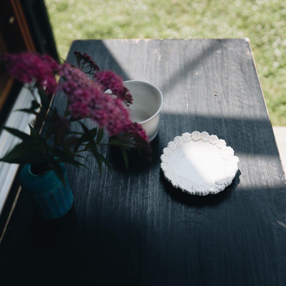 (2020年5月)つちのわ 花かんむり白 10cm 7