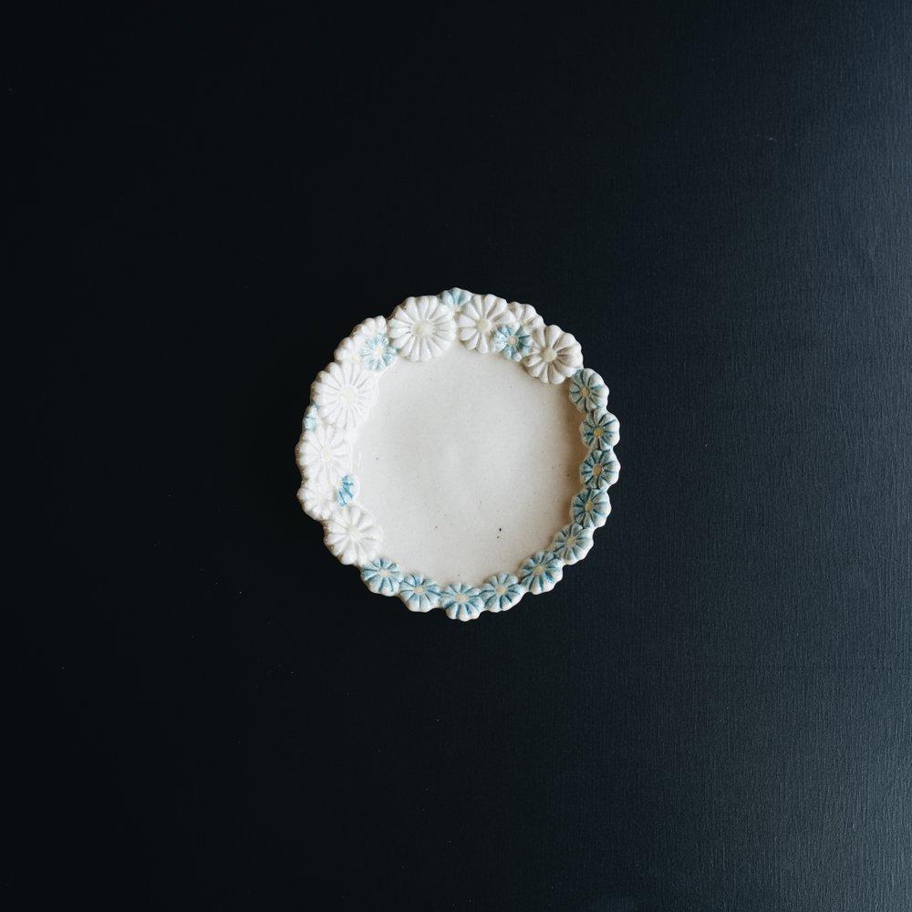(2020年5月)つちのわ 花かんむり 青  10cm 3