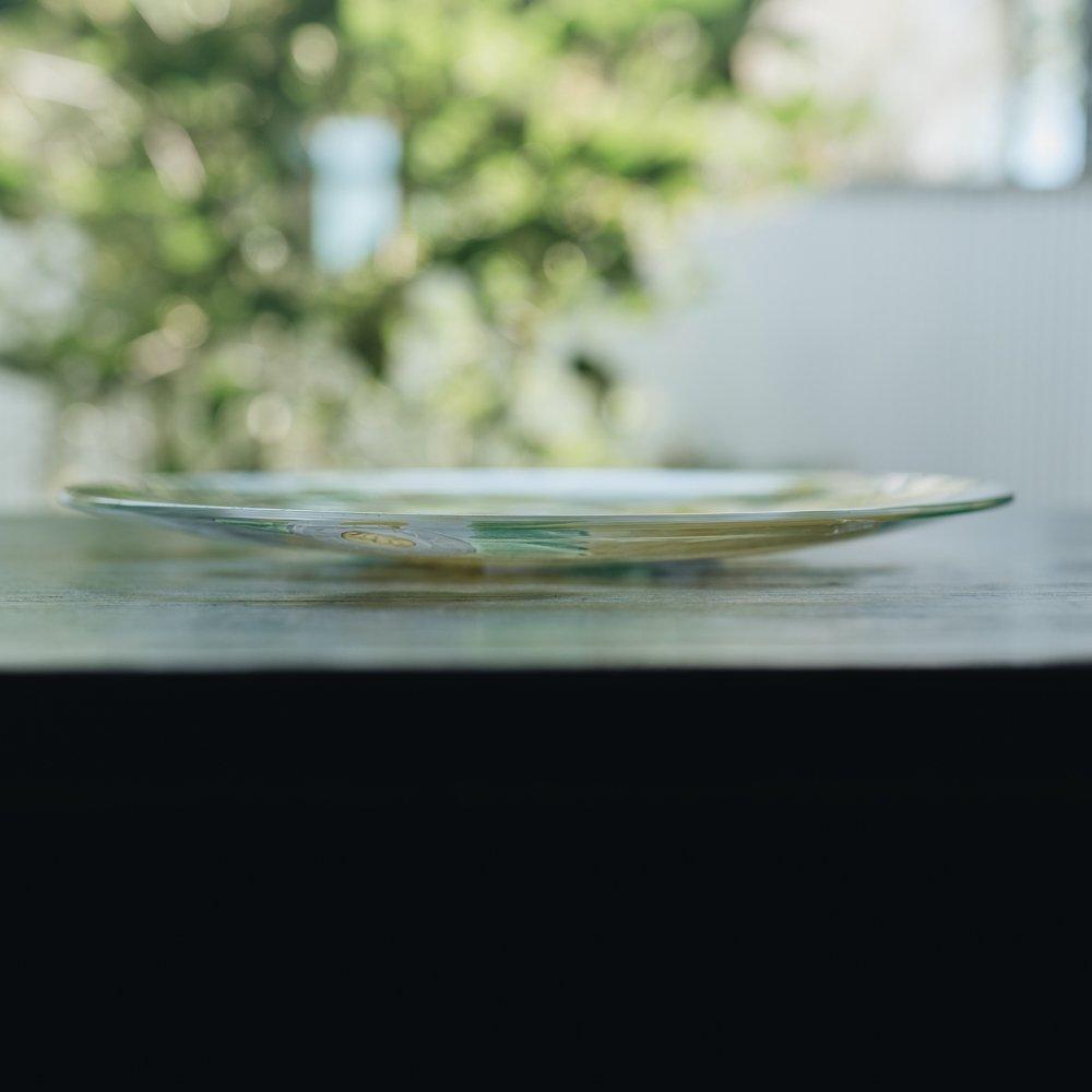 (2021年6月)安達知江 キツネのプレートφ21