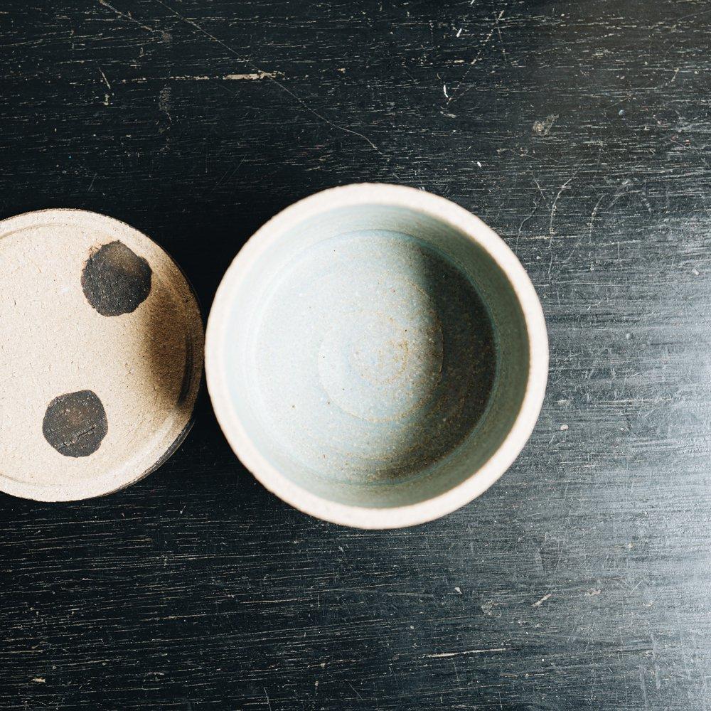 acnepotterystudio (2020年7月) 『陶のふたもの(パンダ)』 A22