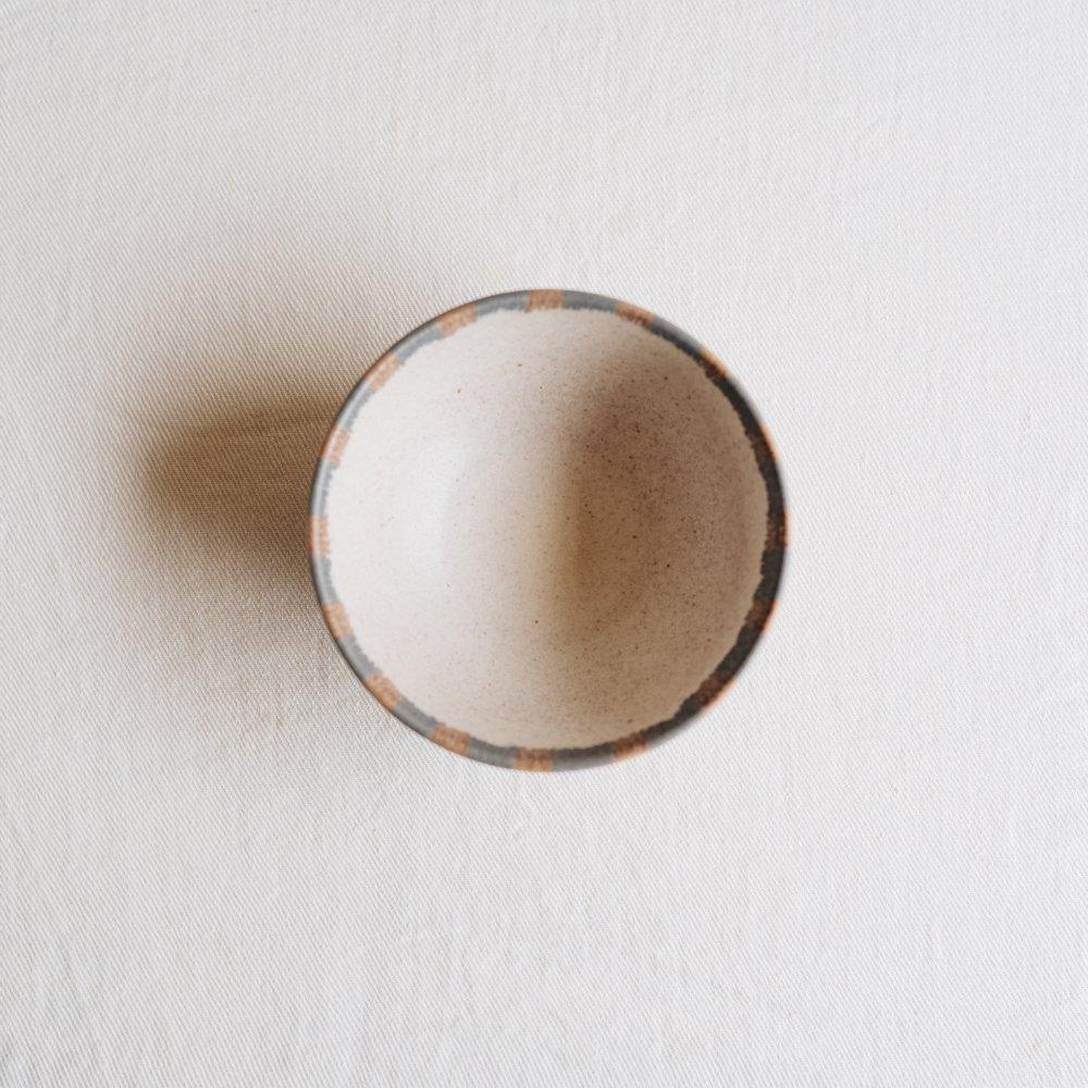 (2020年12月)古川まみ チェック柄お茶碗