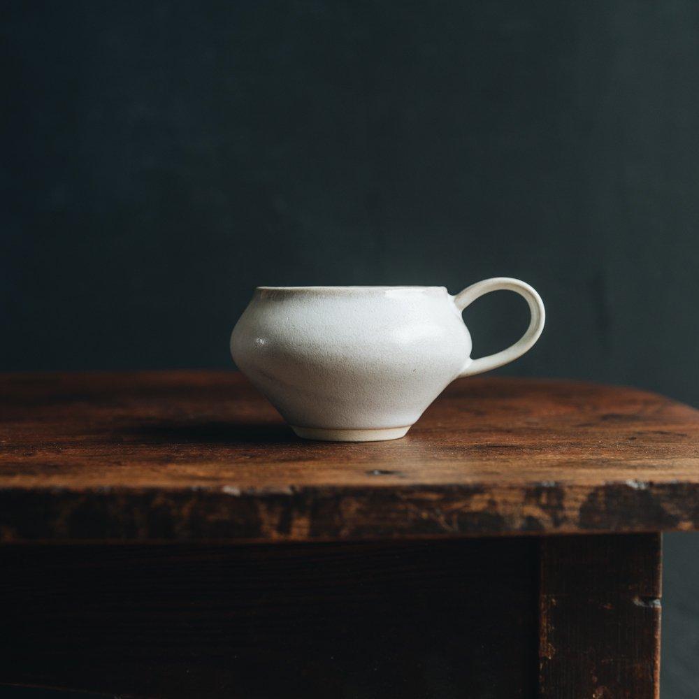 (2021年2月) イロドリ コーヒーのためのカップ(アンティークホワイト)