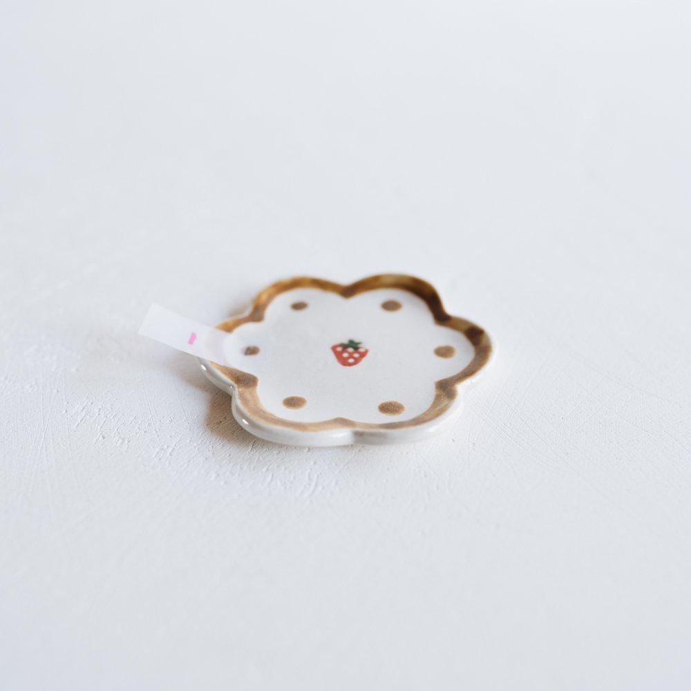 三浦愛子  (2020年10月) 花型ミニ皿