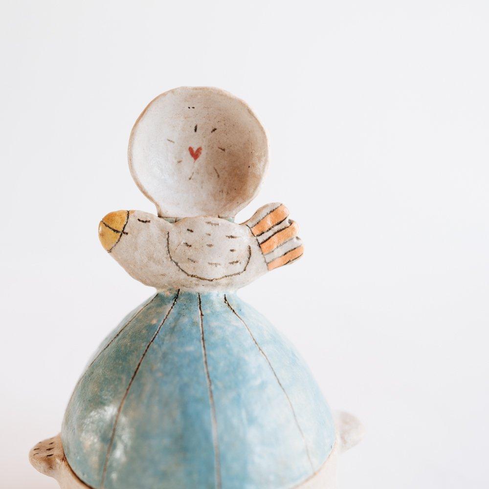 吉川裕子 (2020年10月)鳥シュガーポット Y4