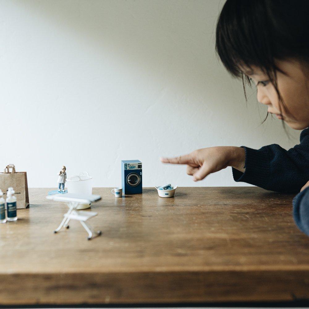 FREDDY LECK MINIATURE LAUNDRY GOODS【01 ランドリー洗剤+ランドリー柔軟剤 ボーイズ】