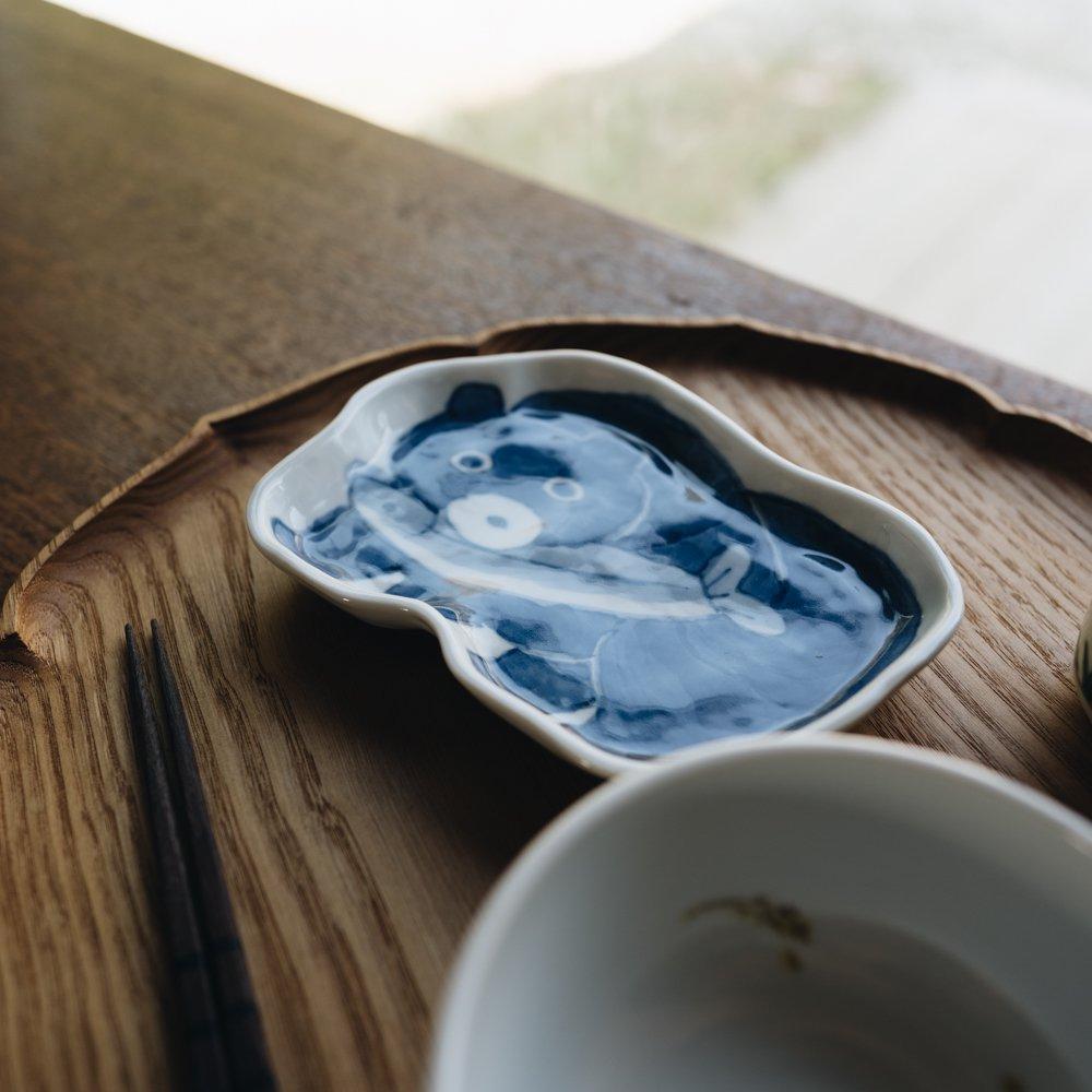 中町いずみ くま型皿 (2020年11月) N5