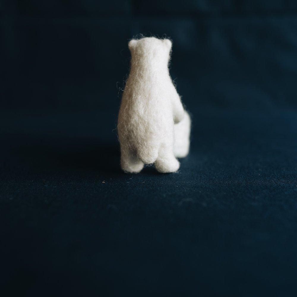 higuma ホッキョクグマの子どもの置物 (2020年11月)  H12