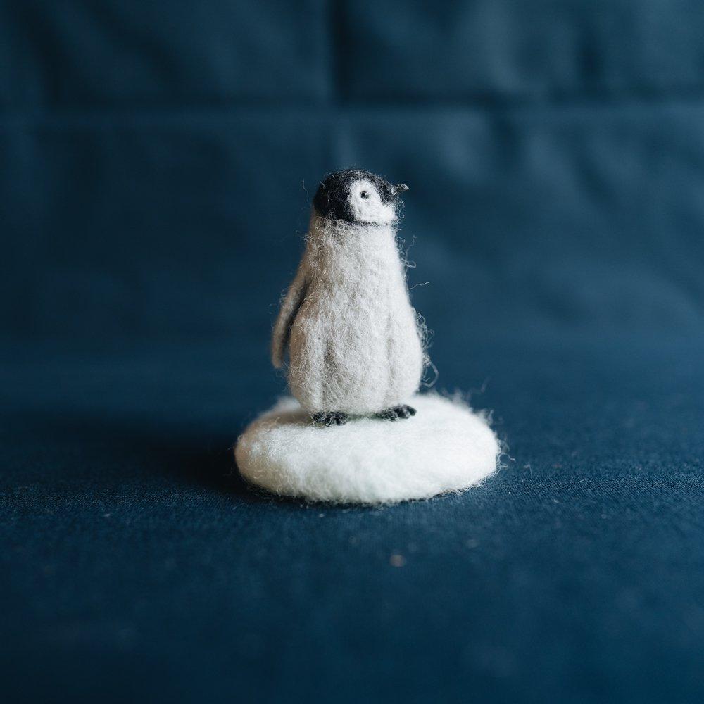 higuma コウテイペンギンのひなの置物 (2020年11月)  H13